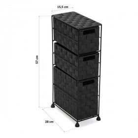 Global Home Bathroom accessories, Chest of drawers (28 x 57 x 15,5 cm), S3403767, BigBuy Home