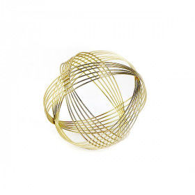Global Home Other Decoration Items, Decorative Figure Sphere Golden, S0110828, BigBuy Home