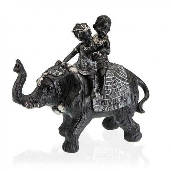 Global Home Other Decoration Items, Decorative Figure Resin (12 x 24 x 27,2 cm) Elephant, S3404400, BigBuy Home